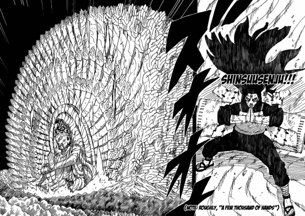 Shinsuusenju Madara vs Hashirama