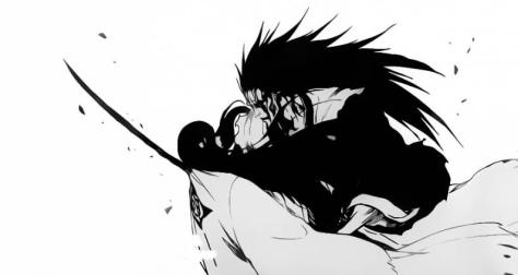 Zaraki kills Unohana