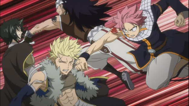 Fairy Tail dominates Sabertooth
