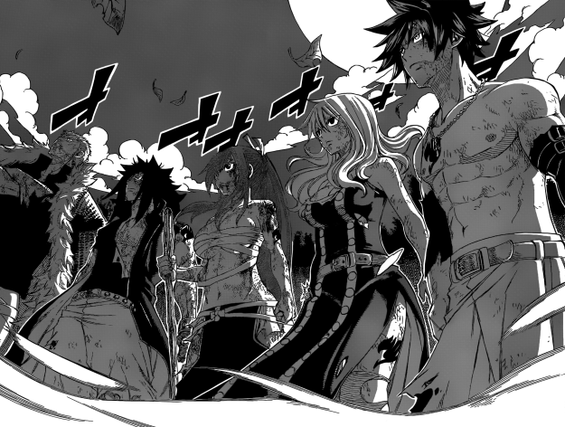 Fairy Tail stands against Sting