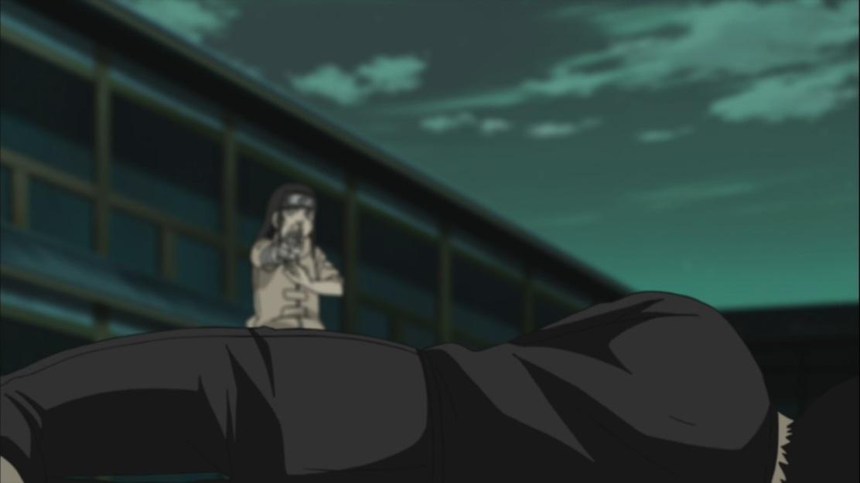 Hinata goes down