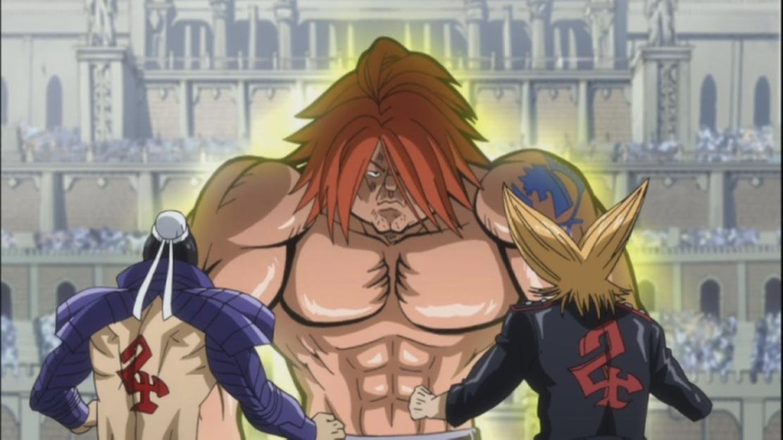 Ichiya against Rocker and Bacchus