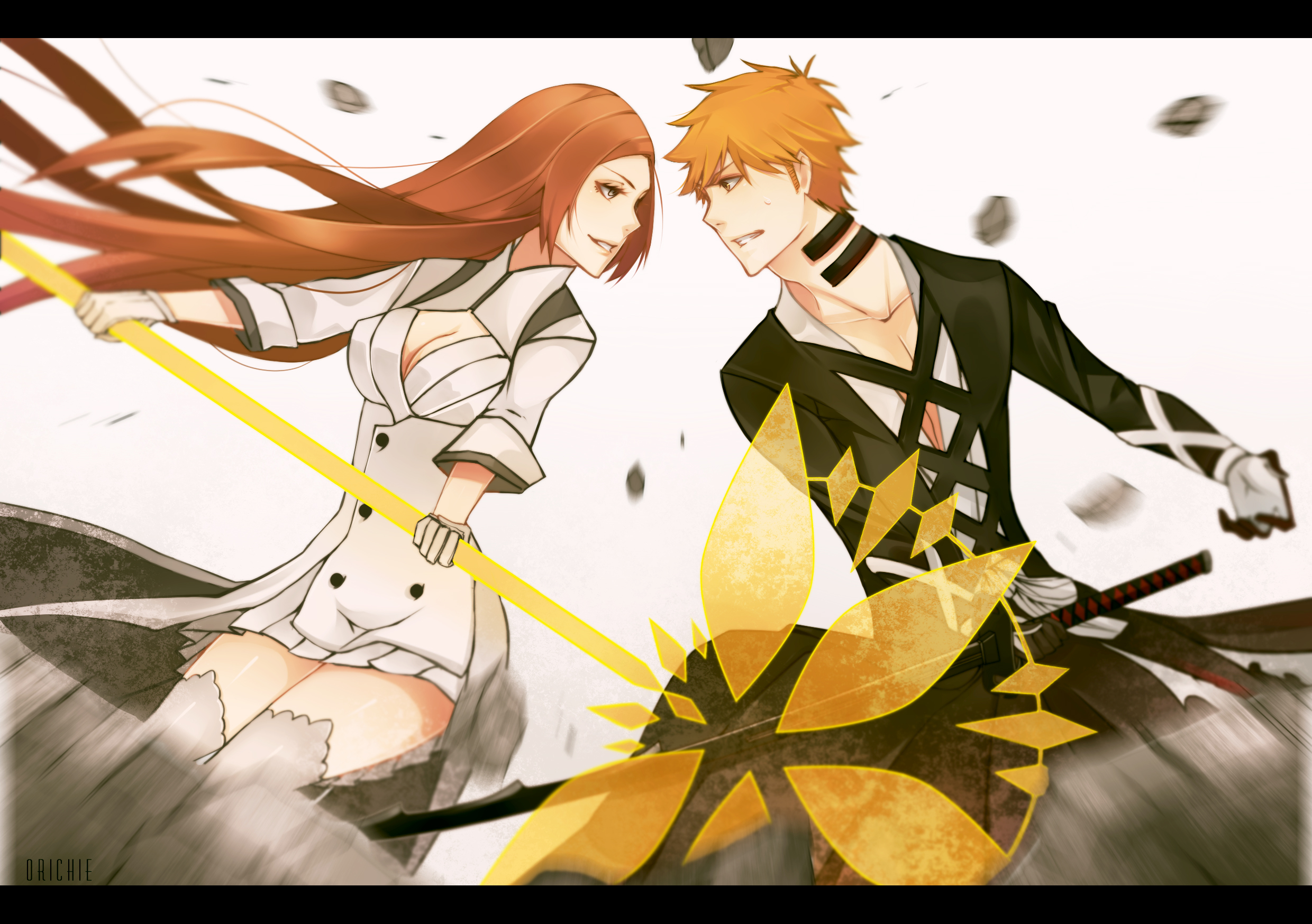 ichigo and orihime relationship