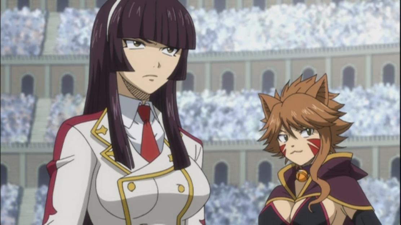 Kagura and Millianna