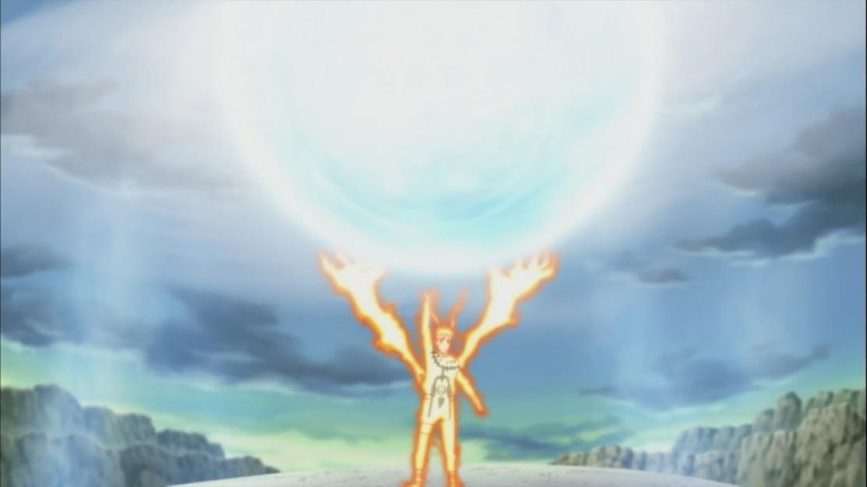 Naruto's Large Rasen Shuriken