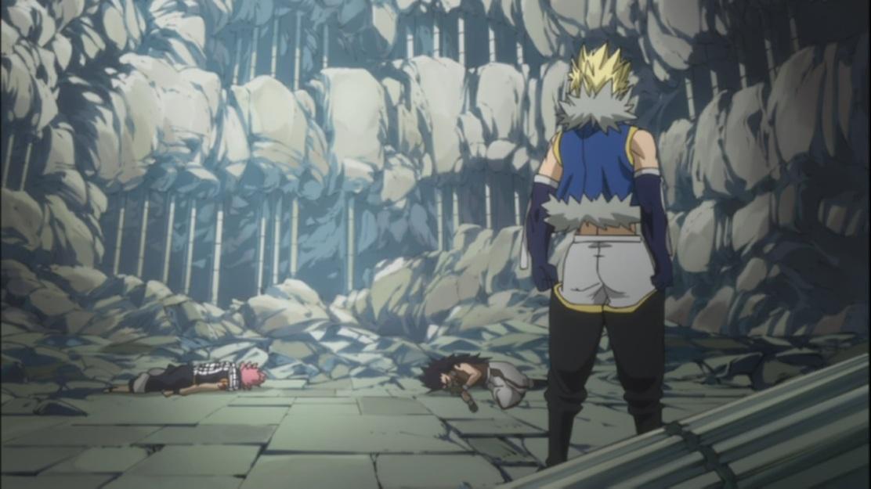 Natsu and Gajeel are down