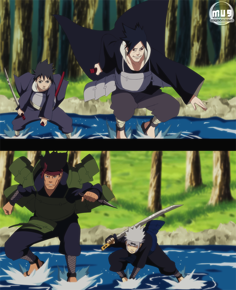 Madara and Hashirama's fathers do NOT look awesome in the ...