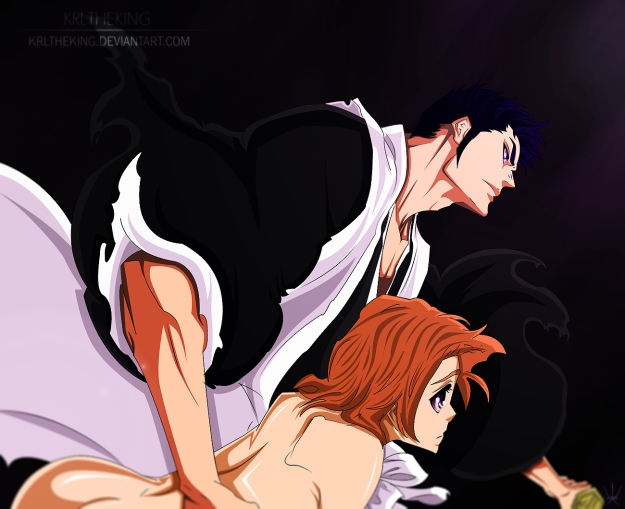bleach_535___masaki_and_isshin_by_krltheking-d63664h