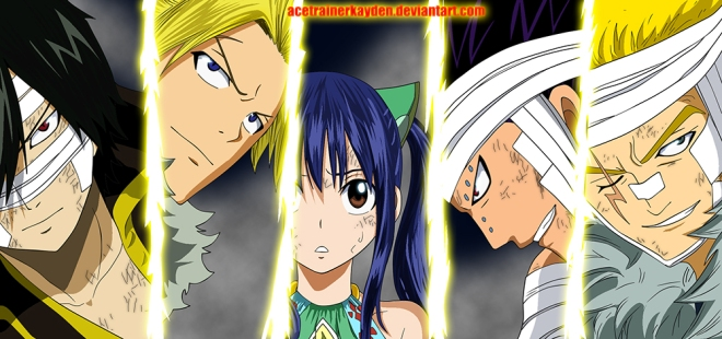 Fairy Tail  Chapter 329