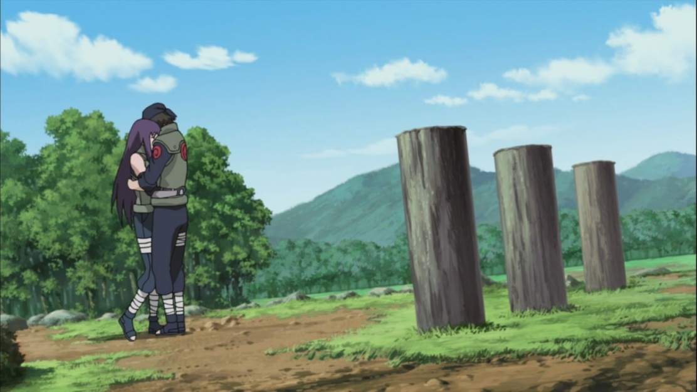 Hayate and Yugau hug
