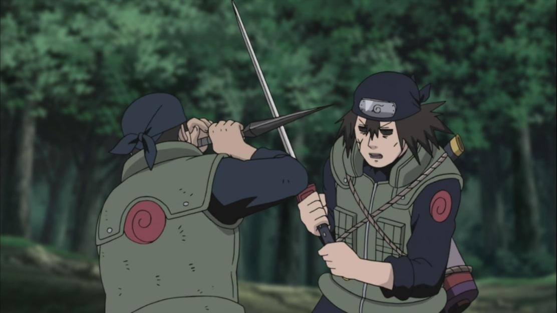 Hayate fights