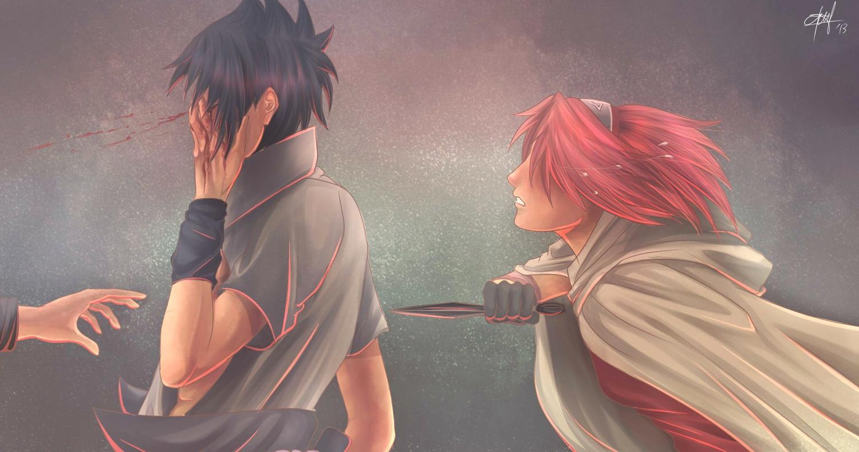 I must end it sasuke and sakura daily anime art i must end it sasuke and sakura altavistaventures Images