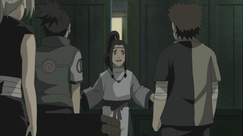 Lord Shu talks to Ino Shikamaru Choji