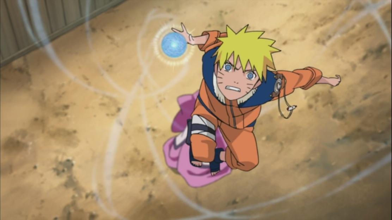 Naruto protects Chiyo