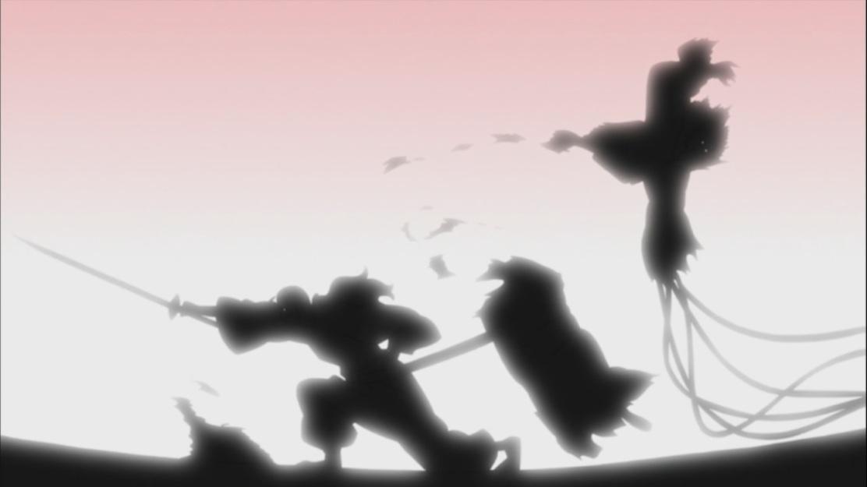 Tatewaki destroys Sasori puppet