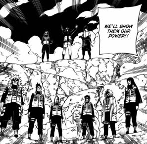 Everyone is ready to go Naruto Sasuke Sakura