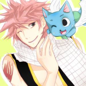 ft___natsu_and_happy_by_renciel-d4jvk10
