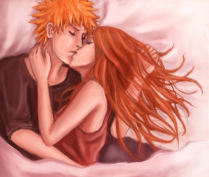 ichigo_and_orihime_by_girlunknown-d2xwktp