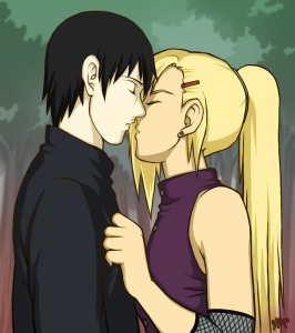 Ino_x_Sai_Kiss_by_Glay