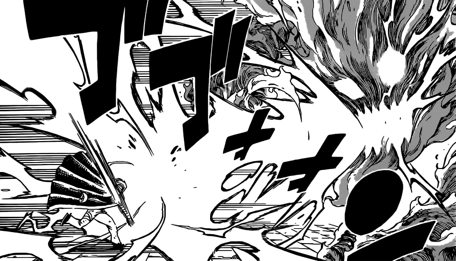 Laxus gets fired up