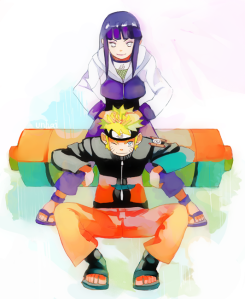 naruto and hinata by unhai