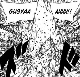 Sakura's destruction