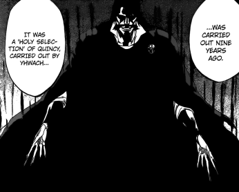 Yhwach performs Ausscheren Holy Selection of Quincy