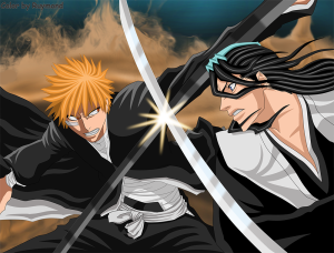 bleach_ichigo_vs__byakuya_by_ruymond-d4lpd57