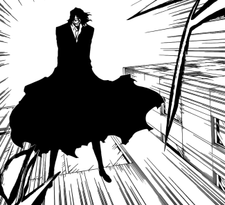 Old man Zangetsu appears Yhwach from 1000 years ago