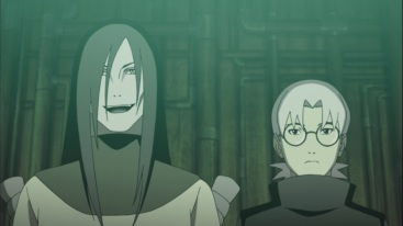 Orochimaru and Kabuto talk