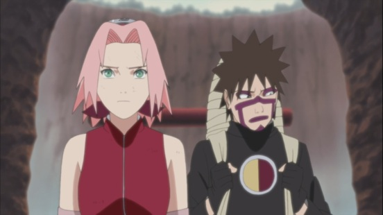Sakura and Kankuro