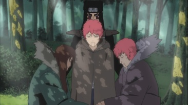 Sasori and family puppets