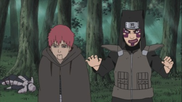 Sasori and Kankuro puppet