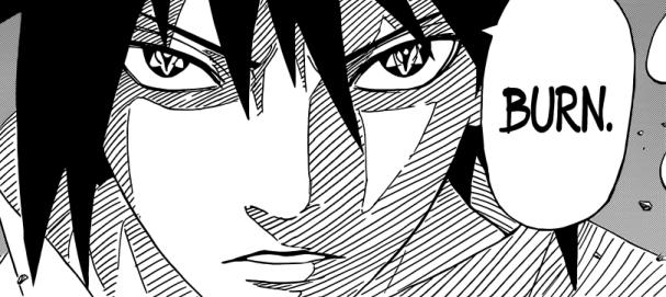 Sasuke Burn