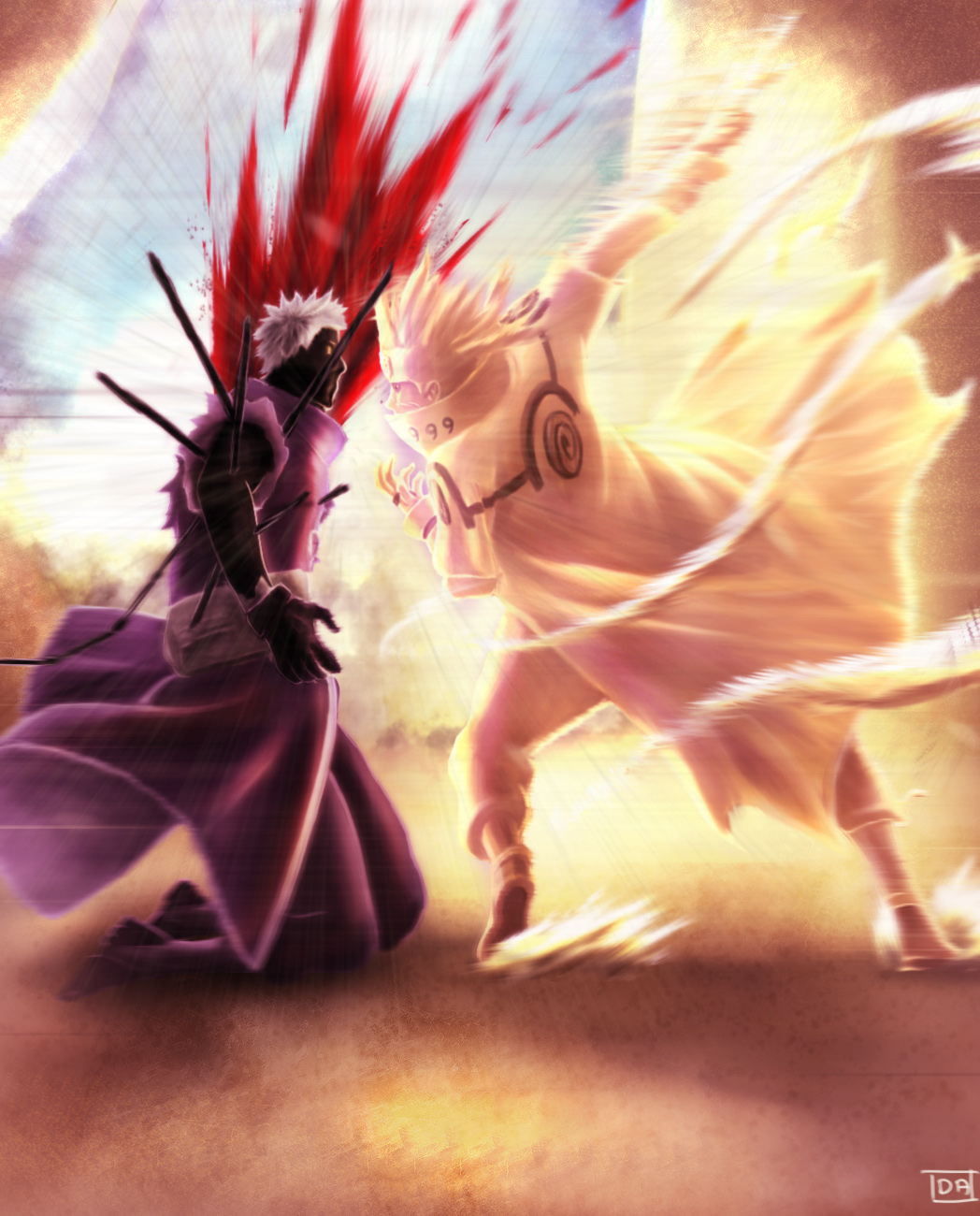 Obito The Ten Tails Ji...