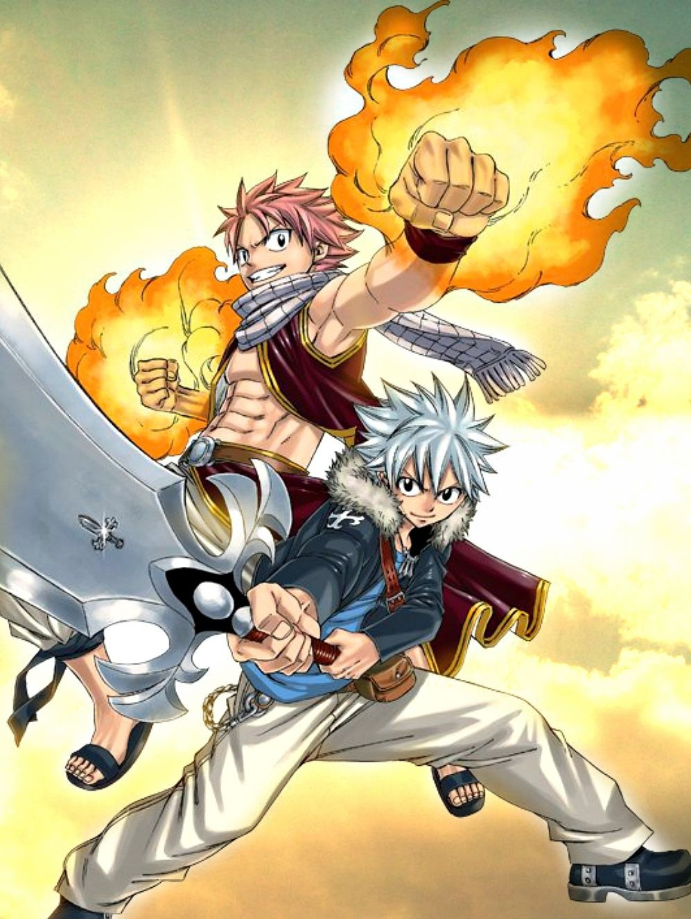 Fairy Tail Rave Master Crossover