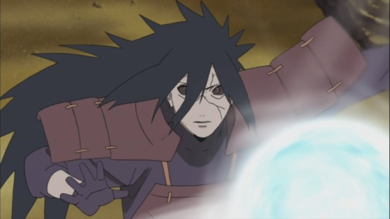 Madara against Rasen Shuriken