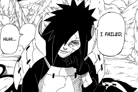 Madara fails coming back