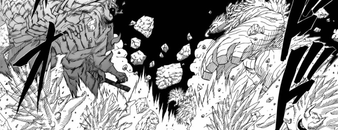 Madara vs Hashirama Susanoo vs Wood Dragon