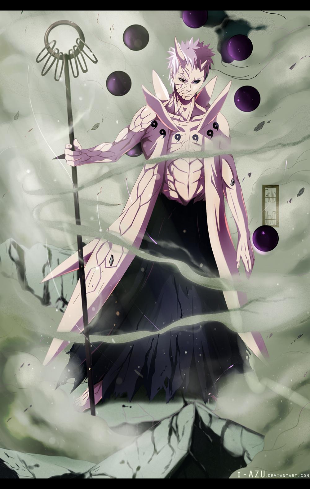 Obito's Sage of Six Paths Transformation – Naruto 640 | Daily ...