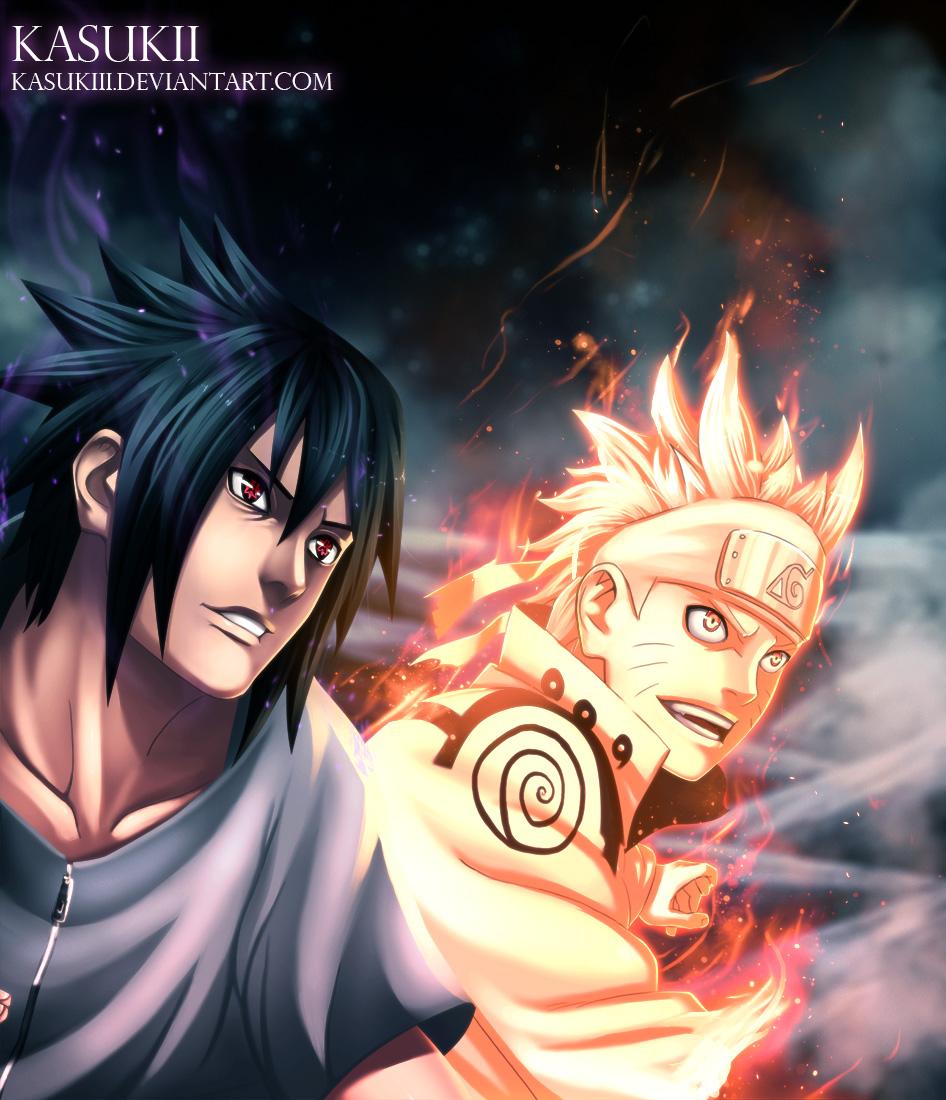 naruto and sasuke attack obito madara vs hashirama