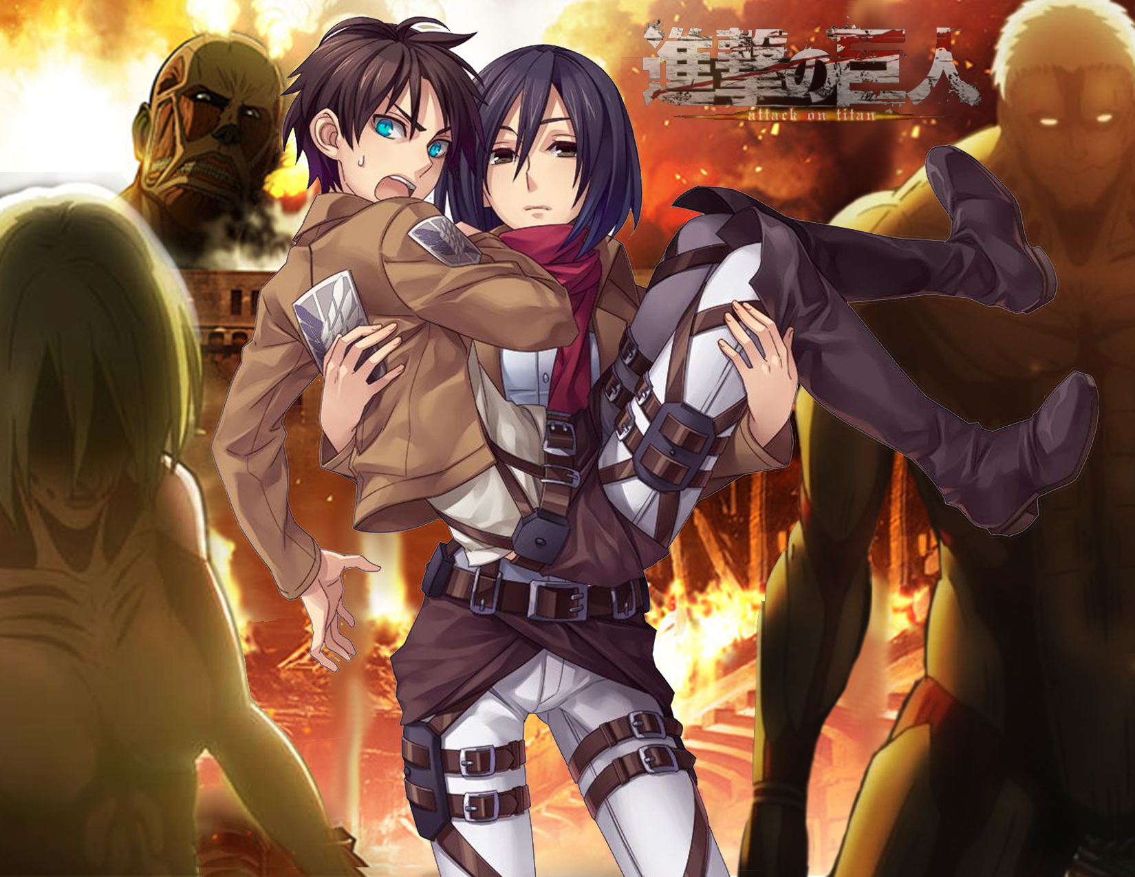 Fantastic On Titan Wallpapers Daily Anime Art