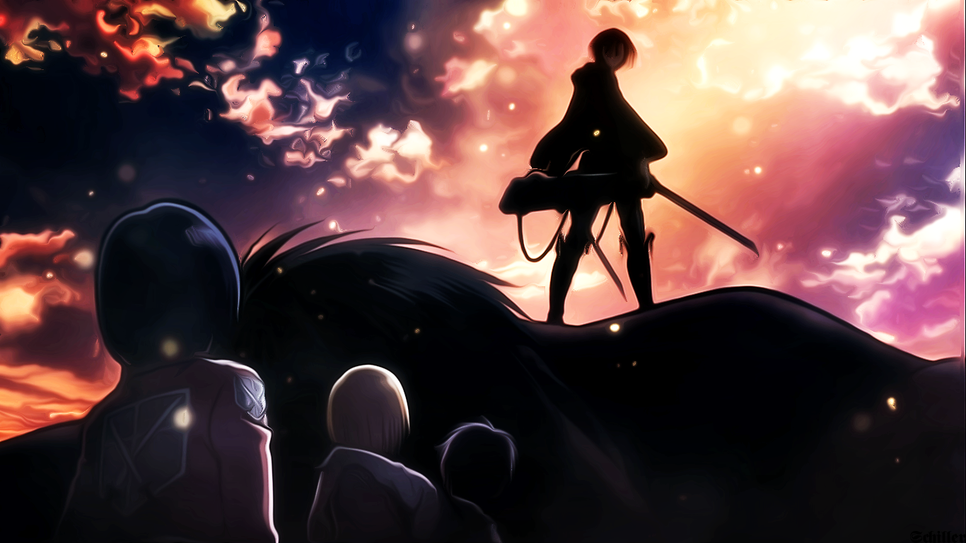 8 Fantastic Attack On Titan Wallpapers