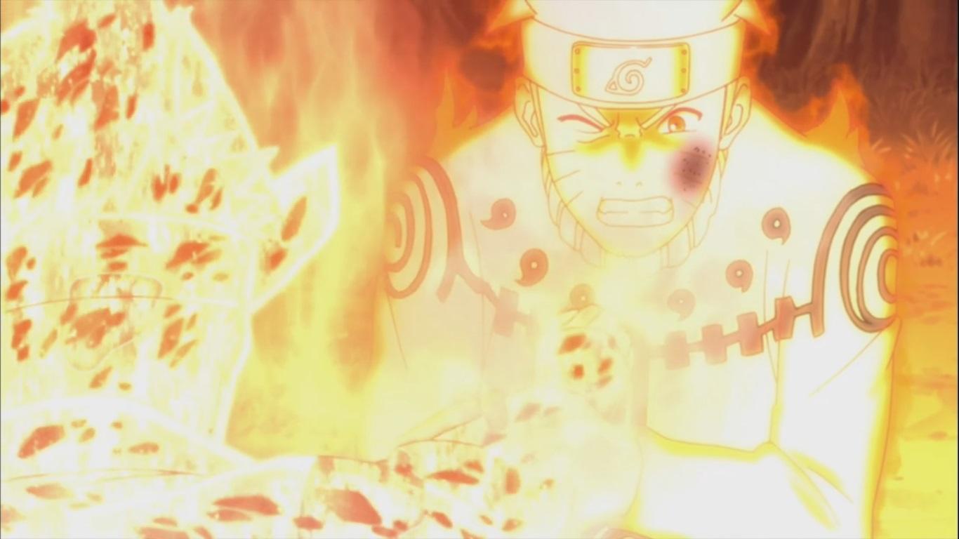 Jinchuuriki vs Jinchuuriki! Kakashi and Guy – Naruto ...