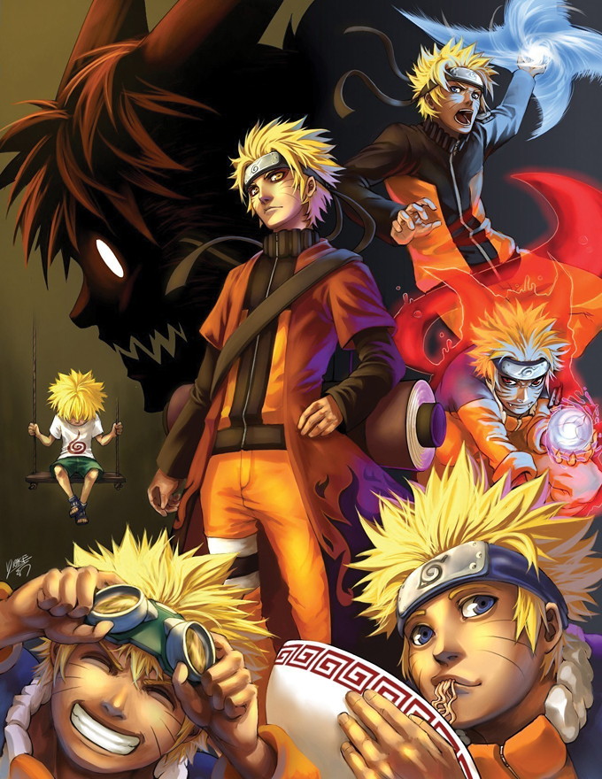 Life In A Picture – Naruto Uzumaki | Daily Anime Art