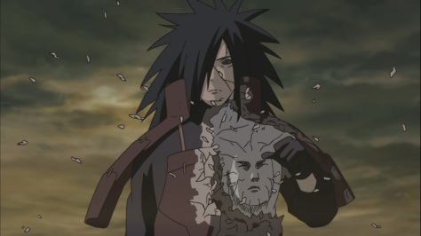 Hashirama's face on Madara