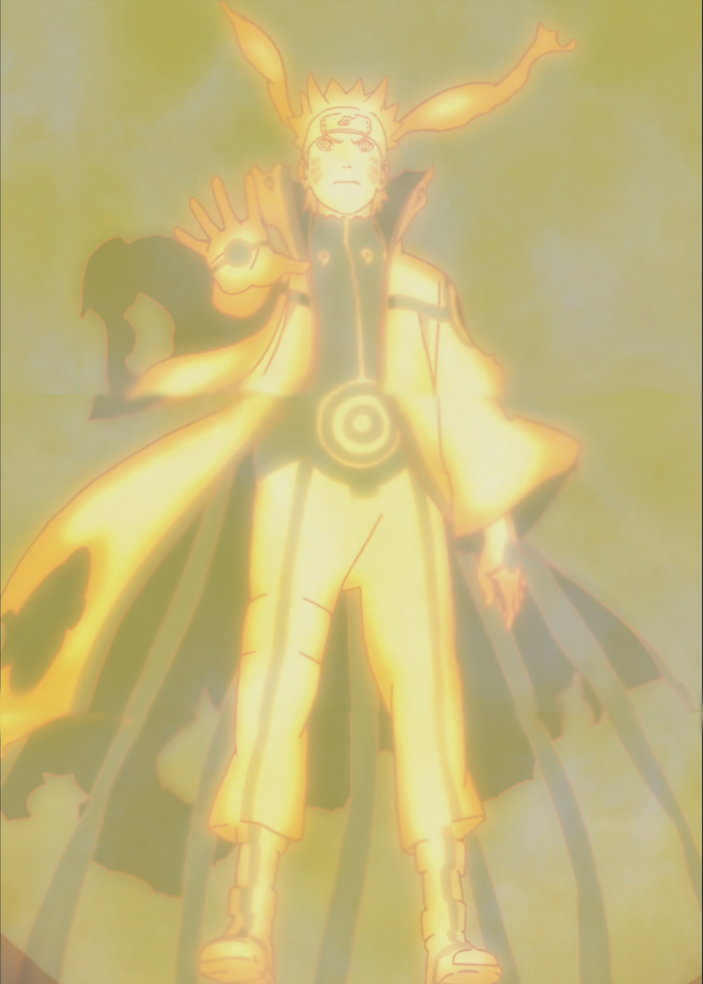 naruto bijuu mode anime daily anime art