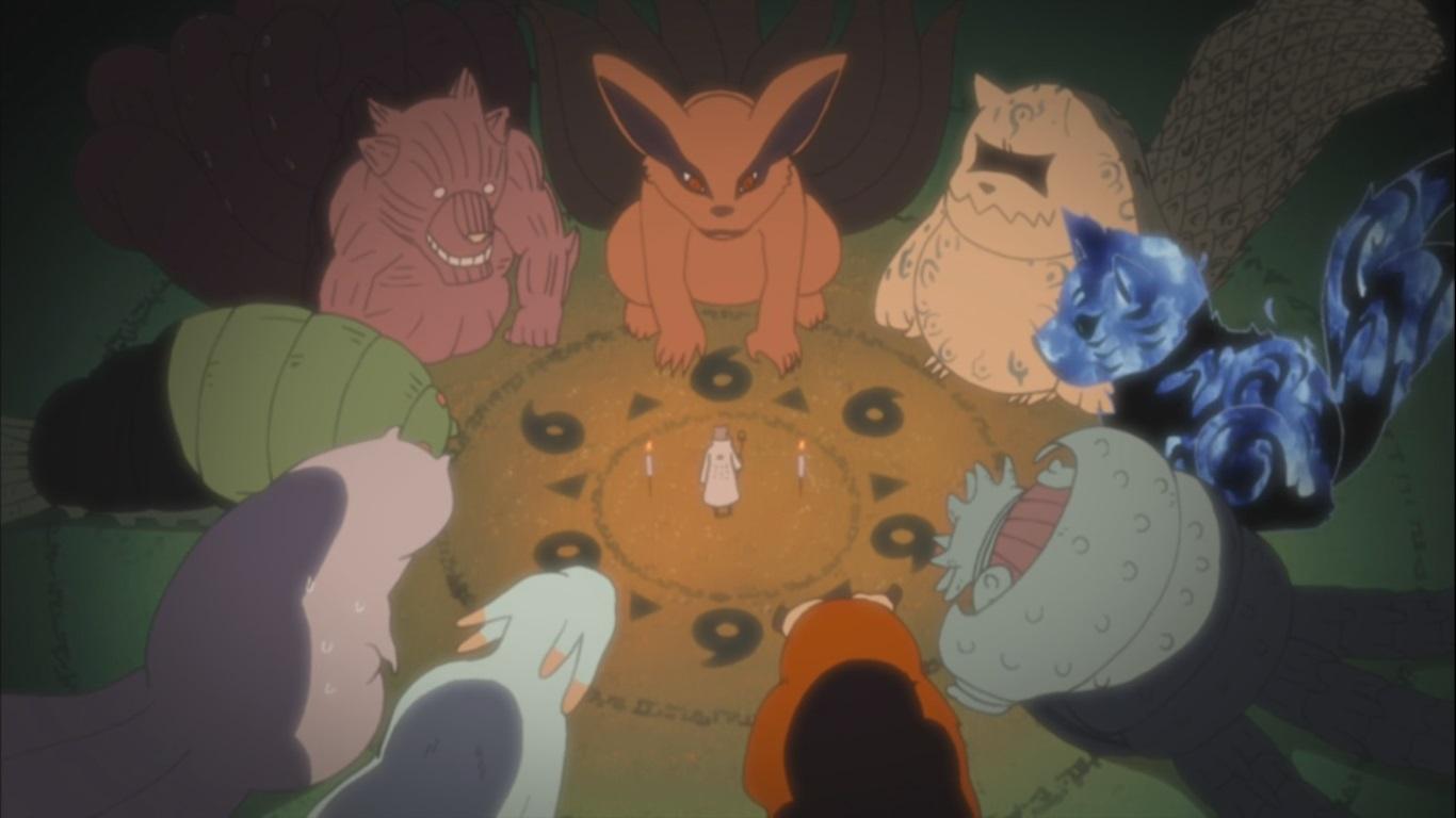 Naruto's Bijuu Mode! Naruto Saves Beasts – Naruto ...