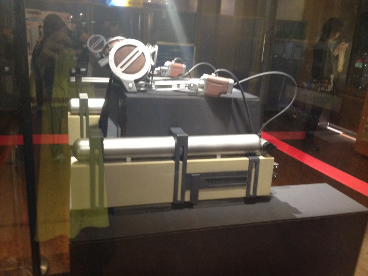 Attack On Titan 3D Maneuver Gear On Display
