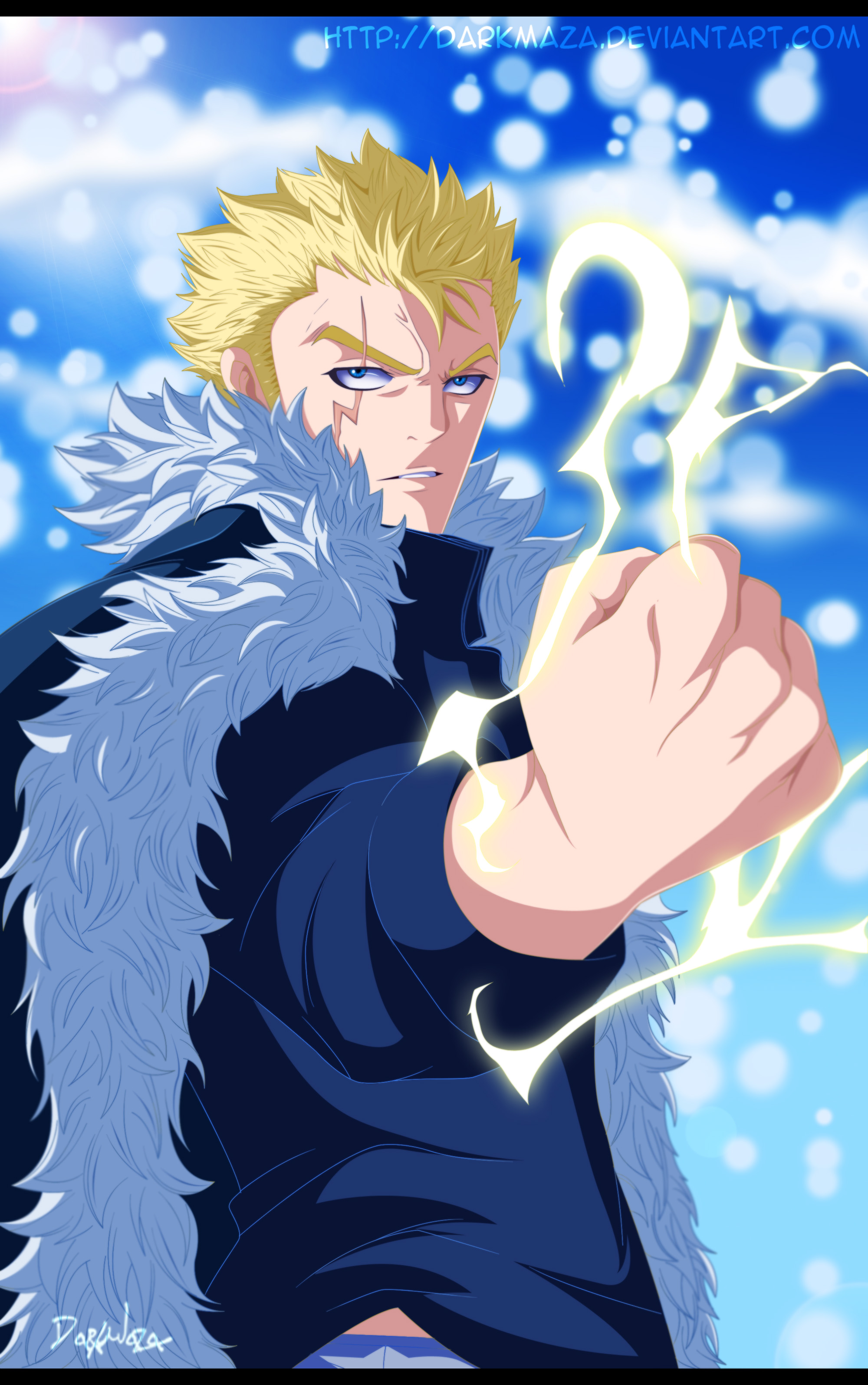 Nine Demon Gate Ready! Laxus vs Tempesta – Fairy Tail 357 ...
